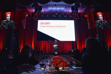 Zadie Smith The International Center Of Photography's 35th Annual Infinity Awards
