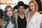 (L-R) Tallulah Willis, Al Abayan, and Mallory Llewellyn attend the Zadig & Voltaire Malibu store opening on May 31, 2014 in Malibu, California.