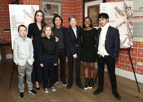 'The Boy Who Harnessed The Wind' Special Screening, Hosted By Angelina Jolie