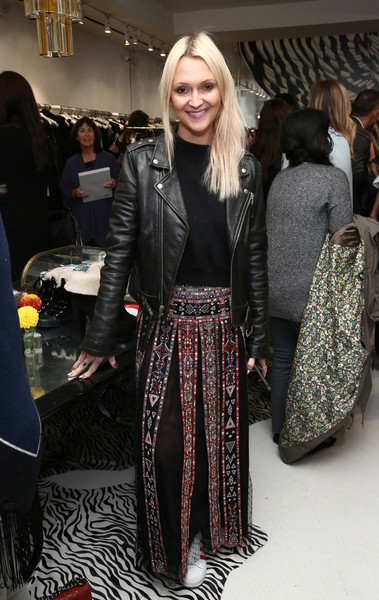 Sara Blakely and Alice + Olivia Celebrate the Launch of 'The Belly Art Project'