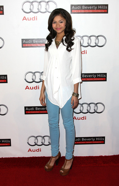 Zendaya Actress Zendaya attends the Audi Celebrates the Grand Opening of Audi Beverly Hills on March 8, 2012 in Beverly Hills, California.