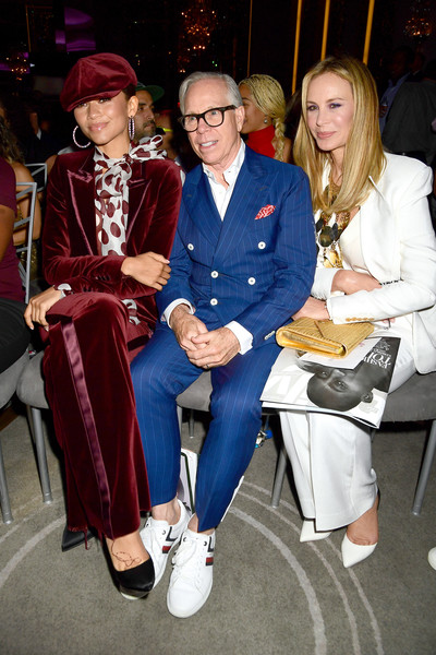 The Daily Front Row 7th Annual Fashion Media Awards [fashion,event,fun,electric blue,fashion design,leisure,fashion accessory,performance,zendaya,dee hilfiger,tommy hilfiger,daily front row 7th annual fashion media awards,new york city,the daily front row]