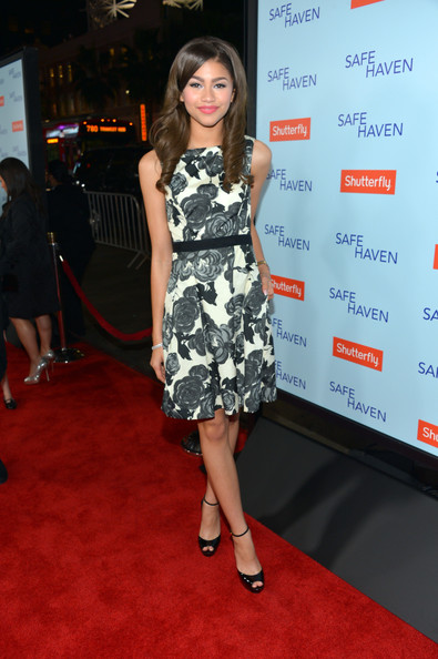 "Zendaya Coleman - Premiere Of Relativity Media's ""Safe Haven"" - Red Carpet"