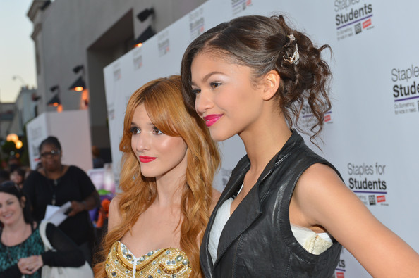 Zendaya Coleman - Staples, DoSomething.org & Bella Thorne Party For The 5th Staples For Students School Supply Drive Benefiting Students In Need