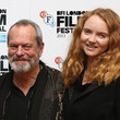 Lily Cole and Terry Gilliam Photos