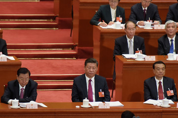 Zhang dejiang China's National People's Congress - Opening Ceremony