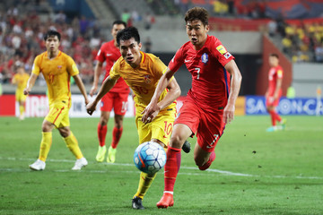 Zheng Zhi South Korea v China - 2018 FIFA World Cup Qualifier Group A