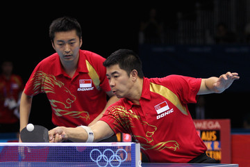 Zi Yang Olympics Day 8 - Table Tennis