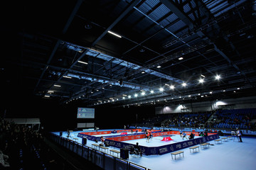 Zi Yang ITTF Pro Tour Table Tennis Grand Finals: Day Three - LOCOG Test Event for London 2012