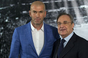 Zinedine Zidane and Florentino Perez Photos Photo