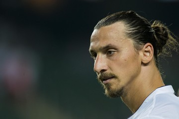 Zlatan Ibrahimovic Kitchee v Paris Saint-Germain