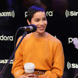 Zoe Kravitz The Cast Of Hulu's High Fidelity Visits The SiriusXM's Studios