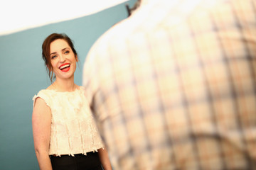Zoe Lister Jones Behind The Scenes Of The Getty Images Portrait Studio Powered By Samsung Galaxy At 2015 Summer TCA's