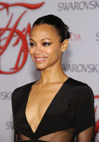 Zoe Saldana - 2012 CFDA Fashion Awards - Arrivals