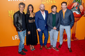 Zoe Saldana Chris Butler 'Missing Link' New York Premiere