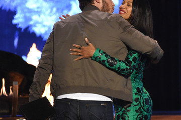 Zoe Saldana Chris Pratt Spike TV's Guys Choice 2015 - Show