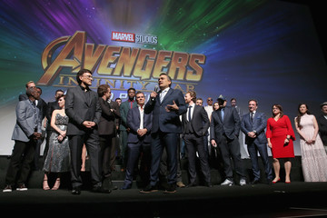 Zoe Saldana Chris Pratt Los Angeles Global Premiere for Marvel Studios' 'Avengers: Infinity War'