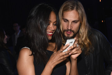 Zoe Saldana Samsung Launches The Galaxy S 6 With Special Guests In Los Angeles