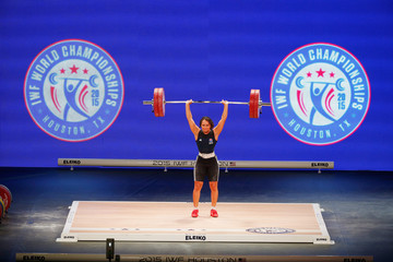 Zoe Smith 2015 International Weightlifting Federation World Championships