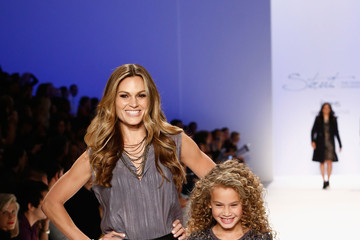 Zoe Taylor Strut: The Fashionable Mom Show - Runway - Mercedes-Benz Fashion Week Spring 2014