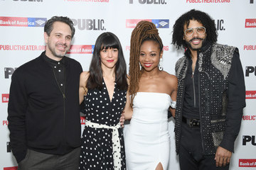 Zoe Winters Sheria Irving 'White Noise' Opening Night
