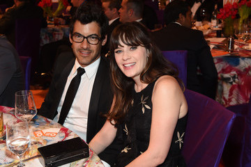 Zooey Deschanel 2016 Elton John AIDS Foundation's Oscar Viewing Party