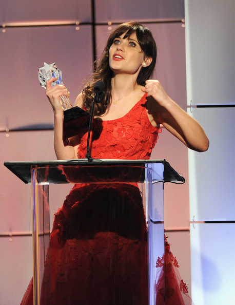 Zooey Deschanel - Broadcast Television Journalists Association Second Annual Critics' Choice Awards - Show