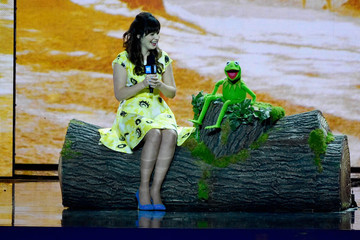 Zooey Deschanel WE Day California - Inside