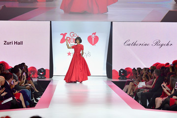 Zuri Hall The American Heart Association's Go Red For Women Red Dress Collection 2018 Presented By Macy's - Runway
