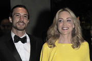 Marcus and Sharon Stone attends amfAR's 2nd Annual Inpsiration Gala Sao Paulo on April 26, 2012 in Sao Paulo, Brazil.