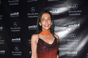 Ghada Dergham attends the amfAR Gala after party in celebration of Mercedes-Benz Fashion Week at SL on February 6, 2013 in New York City.