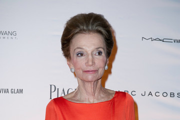 Lee Radziwill amfAR Inspiration Night Paris Sponsored by Rebecca Wang Entertainment