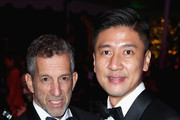 amfAR Chairman of the Board Kenneth Cole (L) and CFO at AMTD Philip Yau attend the amfAR Gala Los Angeles 2017 at Ron Burkle's Green Acres Estate on October 13, 2017 in Beverly Hills, California.