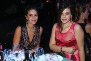 Margherita Missoni and Teresa Missoni attend the amfAR Milano 2014 - Gala Dinner and Auction as part of Milan Fashion Week Womenswear Spring/Summer 2015 on September 20, 2014 in Milan, Italy.
