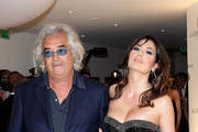 Flavio Briatore and Elisabetta Briatore attend the de Grisogono party at the Hotel Du Cap on May 18, 2010 in Cap D'Antibes, France.
