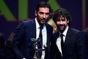 Gianluigi Buffon and Miguel Medina Photos Photo
