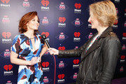 Actress Candace Cameron-Bure is interviewed at the iHeart80s Party 2017 at SAP Center on January 28, 2017 in San Jose, California.