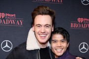 Erich Bergen and Telly Leung attend the iHeartRadio Broadway Launch Celebration on January 14, 2019 in New York City.