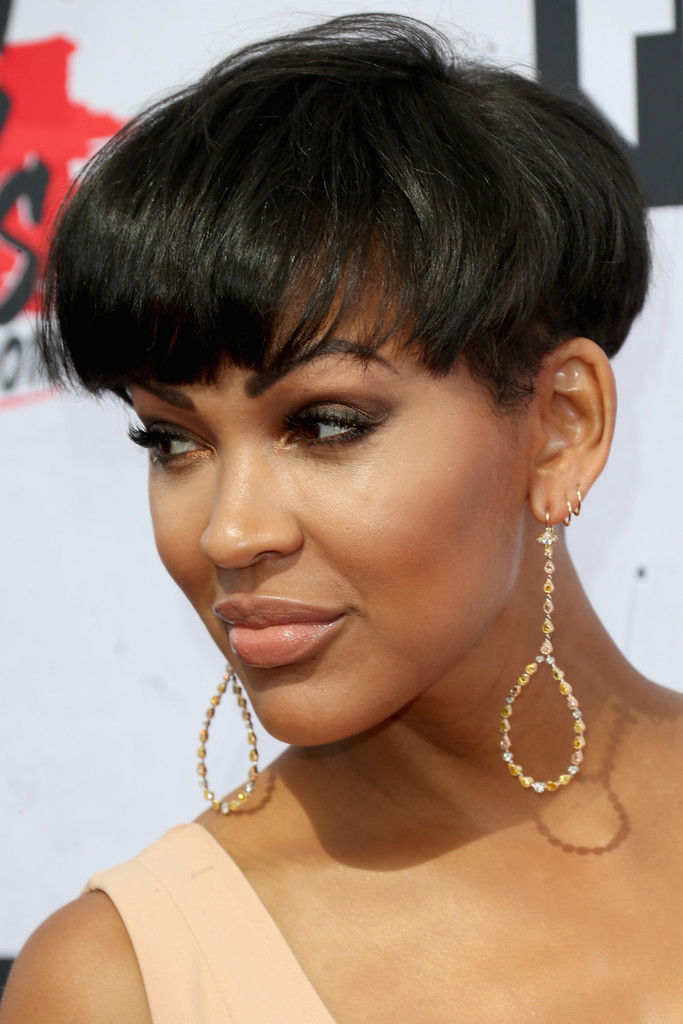 megan good short hair style meagan photos photos iheartradio awards 2288 | iHeartRadio Music Awards Arrivals w F9mjjWeL7x