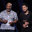 Mario Lopez and Mike Tyson Photos