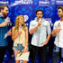 Zack Kalter Photos - (L-R) Radio personality Brotha Fred, TV personalities Becca Tilley, Zack Kalter and Robert Graham attend The iHeartRadio Summer Pool Party at Caesars Palace on May 30, 2015 in Las Vegas, Nevada. - The iHeartRadio Summer Pool Party - Backstage