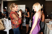 """NYLON magazine editor Dani Stahl (L) and singer Jessie Malakouti (R) attend lia sophia celebrates """"Social Fashion"""" and debuts """"boudika"""" Red Carpet Collection at Empire Hotel on September 12, 2011 in New York City."""