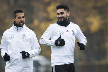 İlkay Gündoğan Germany Training and Press Conference