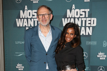 Anton Corbijn with sexy, cute, kind, Wife Nimi Ponnudurai