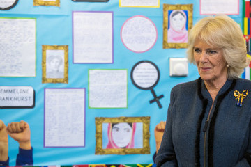 the Duchess of Cornwall The Duchess Of Cornwall Attends A Commonwealth Big Lunch