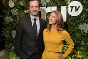 Tom Everett Scott (L) and Andrea Savage attend the truTV Happy Hour at The Langham Huntington Hotel and Spa on February 11, 2019 in Pasadena, California. 510191
