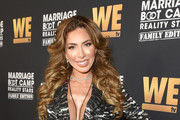 "Farrah Abraham attends WE tv Celebrates the 100th Episode of the ""Marriage Boot Camp"" reality stars franchise and the premiere of ""Marriage Boot Camp Family Edition"" at SkyBar at the Mondrian Los Angeles on October 10, 2019 in West Hollywood, California."