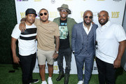 """Bow Wow, Larenz Tate and Jermaine Dupri attend WE tv """"Power, Influence & Hip Hop: The Remarkable Rise Of So So Def"""" celebration and Season 3 of """"Growing Up Hip Hop Atlanta"""" at The London West Hollywood on July 16, 2019 in West Hollywood, California."""