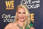 "Gretchen Rossi attends WE tv celebrates the return of ""Love After Lockup"" with panel, ""Real Love: Relationship Reality TV's Past, Present & Future,"" at The Paley Center for Media on December 11, 2018 in Beverly Hills, California."