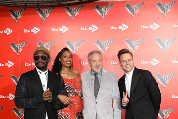 will.i.am Olly Murs The Voice UK 2018 Launch Photocall
